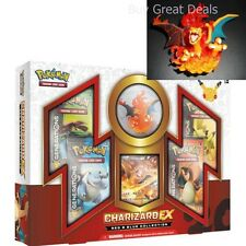 Pokemon TCG: Charizard EX Collection Card Game, Red/Blue Trading Cards Game Box