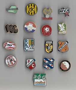 Netherlands Football Club pin badges Voetbal Logo Dutch Holland Ajax PSV Vitesse