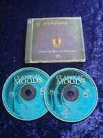 CD.CLASSICAL MOODS.2 CD SET.MUSIC FOR RELAXATION.DECCA MUSIC.22 TRACKS.