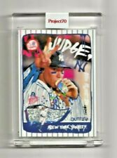 2021 AARON JUDGE TOPPS PROJECT 70 LIMITED CARD #58  GREGORY SIFF ARTIST NEW LIVE
