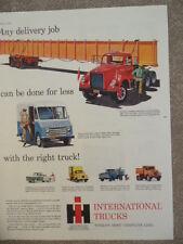 1959 INTERNATIONAL HARVESTER TRUCKS AD-NOT A REPRODUCTION