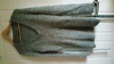 Jane Norman maglione grigio con scollo tondo taglia 14/16