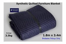 10 X Furniture Removalists Blanket for Moving/Storage GSM 570 Brisbane Pick-Up