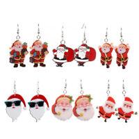 Regalo di Natale con orecchini a forma di orecchini pendenti Gioielli da donna*#