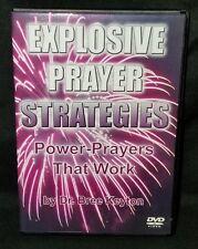 Explosive Prayer Strategies Power-Prayers That Work by Dr Bree Keyton DVD - NEW