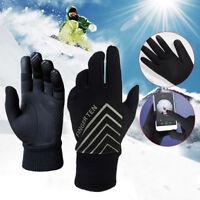 Winter Running Gloves Men Women Warm Liner 3M Waterproof Touchscreen Fleece Run