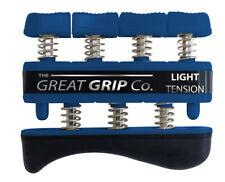 The GREAT GRIP™  Blue, Light - 5 lbs resistance per finger, LIFETIME WARRANTY