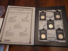STATE QUARTER SET VOLUME 4 2002 ZIPPO LIGHTER LIMITED EDITION MINT IN BOX