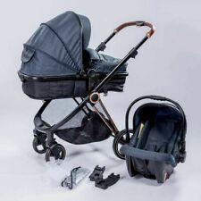 Premium Kinderwagen Trally®  3in1 Babywanne=Buggy Autositz Kombi Kinderwagen NEU