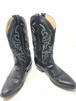 Dan Post Men's Milwaukee Black Cowboy Western Boots Style 2110 Size 10