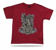 Monster Dragon hamsa hand art design Tshirt birhday apparel special karma gift