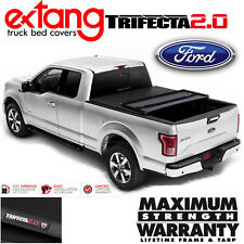 EXTANG Trifecta 2.0 Tri Fold Tonneau Cover Fits 2015-2018 Ford F150 5.5FT Bed