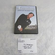 Phil Mickelson Secrets of The Short Game DVD 0327