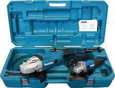 Makita DK0053 Winkelschleifer Set,GA9020  230mm + 9558HRNG 125mm,MEU049,DK0036