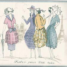 Vintage 1920s Ladies Paris Fashions - ONLY $9 - Wallpaper Border A370