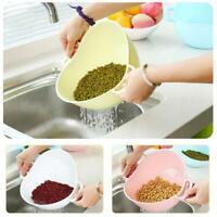 Reis Waschmaschine Sieb Küchenwerkzeuge Gemüsereinigungsbehälter Utensilienkorb