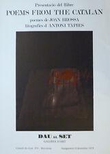 Antoni TÀPIES (1923-2012) Offset en couleurs de 1973 Offset in colors