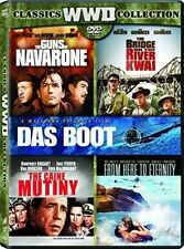 Wwii Classic Collection 5 Dvd Caine Mutiny Eternity Guns Navarone Kwai Das Boot