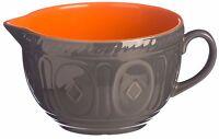 Mason Cash 2 Litre Large Hacienda Ceramic Batter Bowl With Pouring Lip & Handle