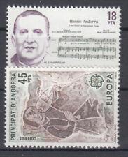 Briefmarken Europa Andorra (sp.. Post) CEPT ** 1985 Michel 181-182 Versand 0 EUR