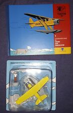Figurine Tintin edition Moulinsart n°1 Avion crabe pinces d'or sous blister NEUF
