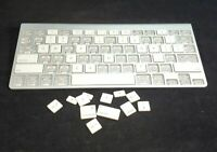 Apple Wireless Bluetooth A1255/A1314 Keyboard- Replacement- INDIVIDUAL KEYS ONLY