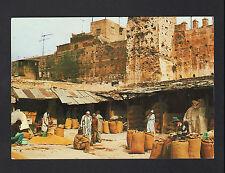 CASABLANCA / MARRAKECH (MAROC) Marché , SOUK de BLE trés animé en 1988