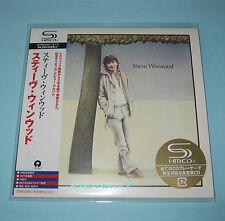 STEVE WINWOOD Steve Winwood JAPAN mini lp cd SHM Traffic, Blind Faith brand new