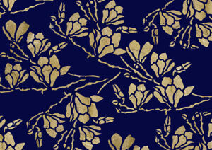 Magnolia Stencil Branch Tree Flower Paint Wall Furniture Cards Reusable Art FL59