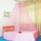 1PCS Elegant Round Lace Insect Bed Canopy Netting Curtain Dome Mosquito Net O9