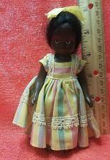 Vintage Black Americana Nancy Ann Storybook Doll Topsy Hard Plastic