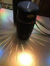 Pentax-M SMC 1:4 200mm Camera Lens Lenses + Case