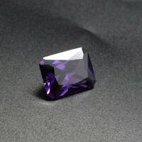 Natural Purple Amethyst Gems 16x12MM 17.38Ct Emerald Cut AAA VVS Loose Gems