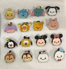 Disney Parks Tsum Tsum Mystery Pack Complete 16-Pin Set! Oswald Stitch Mickey