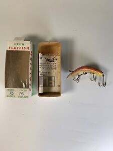 Helin's Flatfish - Vintage Fresh Water Fishing Lure - NEW OLD STOCK - Ontario