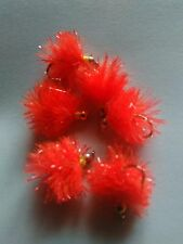 Orange Blob Trout Buzzers Trout Lures Dry Fly Fishing Trout Flies
