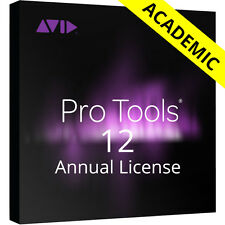 Avid Pro Tools 12 Academic (Card + iLok) Student/Teacher Annual Subscription