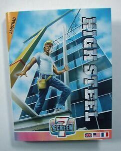 vintage amstrad game amstrad games amstrad game amstrad HIGH STEEL game amstrad