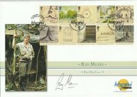 26 FEBRUARY 2004 LORD OF THE RINGS FIRST DAY COVER SIGNED RAY MEARS SHS