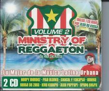 Ministry of Reggaeton Vol 2  2 CD Neuf sous cellophane
