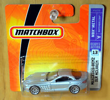 Matchbox Mercedes Benz SLR McLaren [Rare 2009] - New/Sealed/RARE