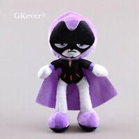 Teen Titans Go Plushies Raven Plush Figure Soft Stuffed Doll Toy 10'' Kids Gift