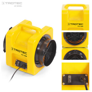 TROTEC Ventilator TTV 1500   Axialventilator   Bautrockner Bautrocknung   Lüfter