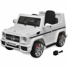 vidaXL Elektrische Auto Mercedes Benz G65 SUV Wit Kinderauto Speelgoedauto
