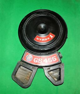 🔥 1971 1972 BUICK SKYLARK GS 455 STAGE 1 RAM AIR CLEANER DUAL SNORKEL ASSEMBLY