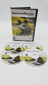 Counter Strike Source (PC Game CD 2005) Complete 4 Discs Only