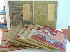 JAPAN 9 VOLUME SET YEDO EDITION, MISSING 1 CAPTAIN BRINKLEY OKAKURA MILLET  1897