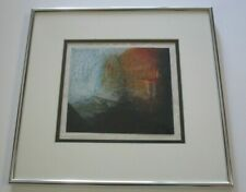 JUDITH HEBREW SIGNED ABSTRACT DRAWING MODERNIST EXPRESSIONISM NON OBJECTIVE