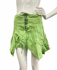 NEW Da-Nang Surplus Women's Asymmetrical Green Skirt HPG293 Size MEDIUM/ M