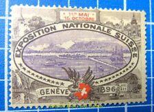 Cinderella/Poster Stamp - 1896 Switzerland National Exhibition Geneva 870